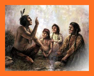 a comparison of native american creation stories with the christian creation story Native american - genesis comparison the creation stories of the jews and the neither the traditional jewish creation story or sioux beliefs.
